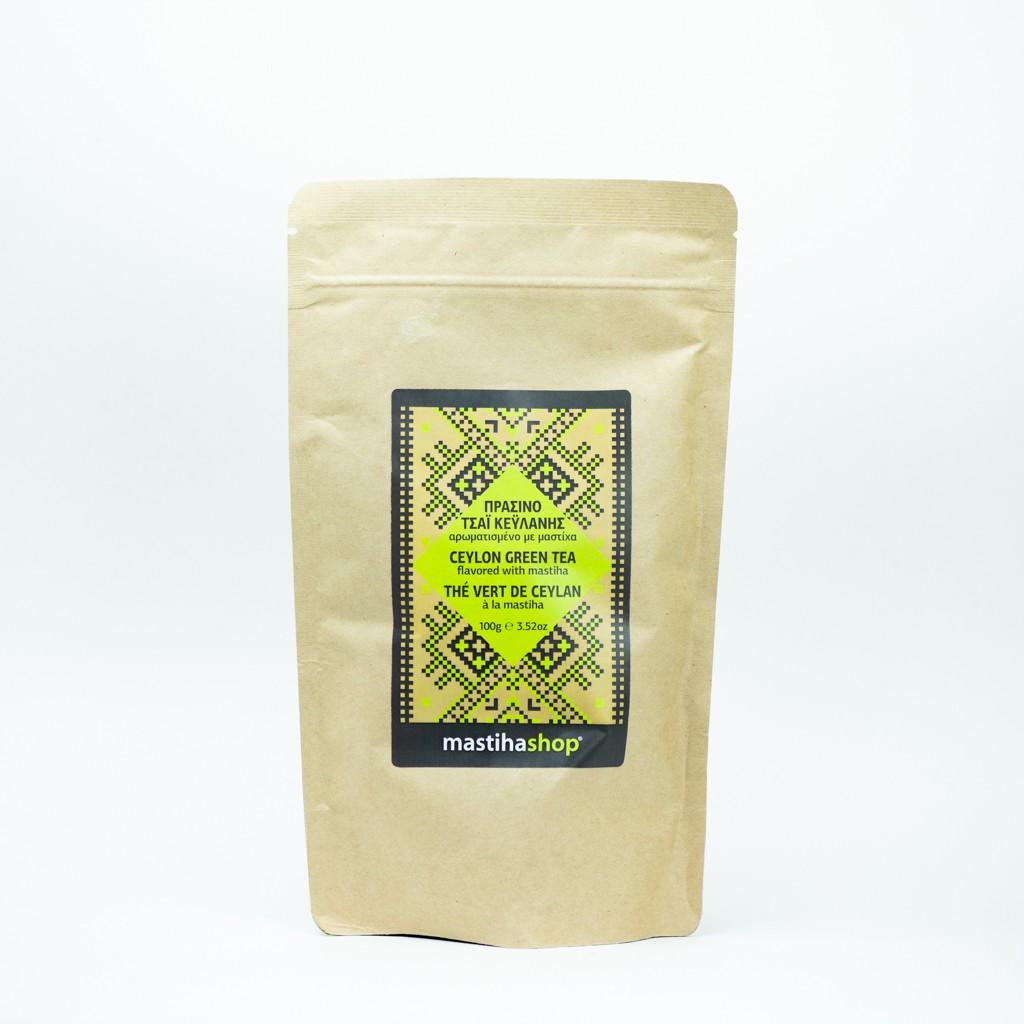 Πράσινο Τσάι Με Μαστιχέλαιο Χίου 100γρ