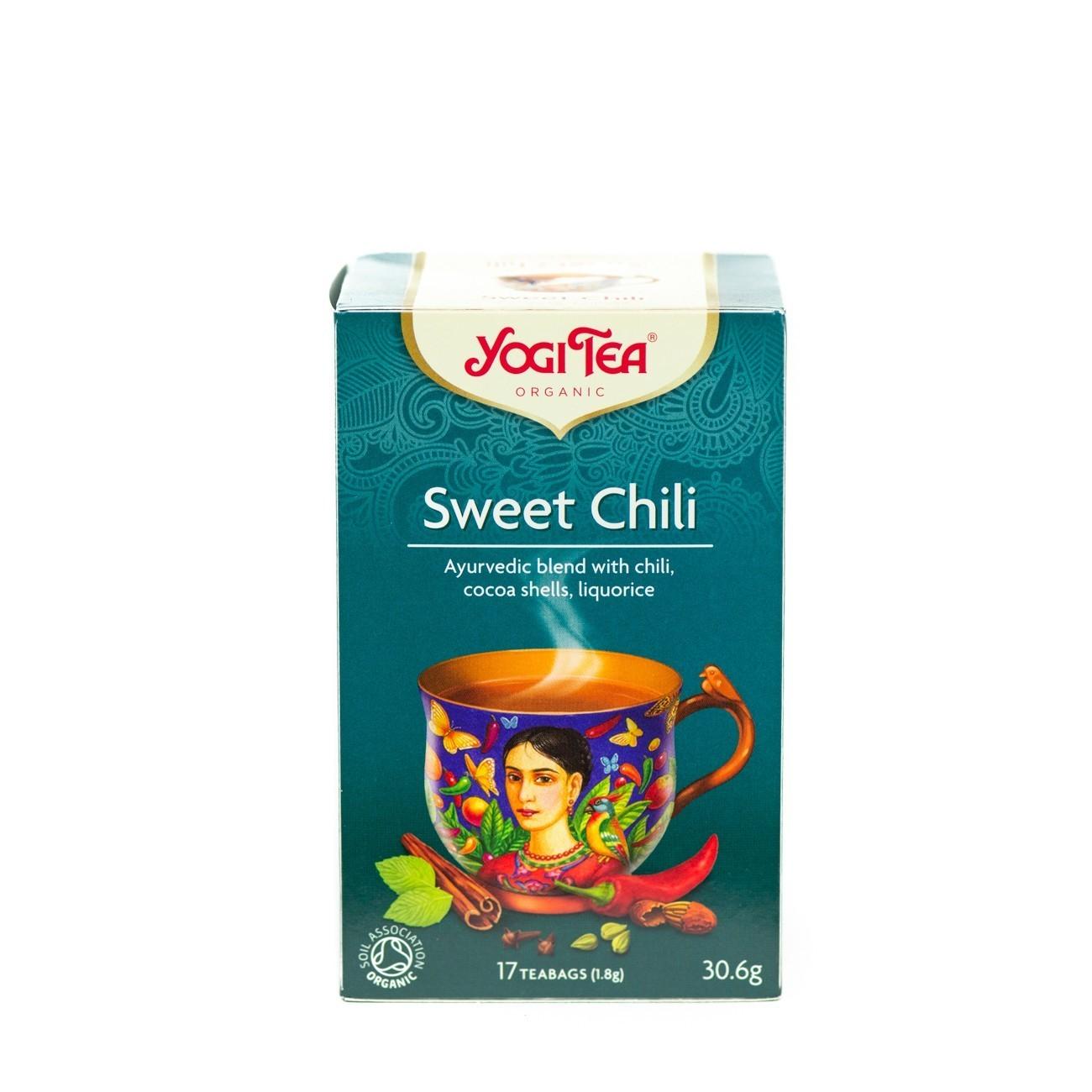 Yogi Tea Sweet Chili  17 φακ.